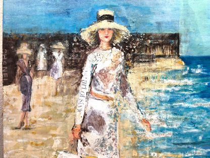 Pintura Original Chanel Playa